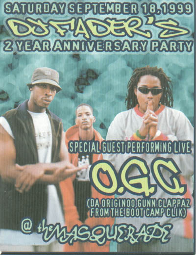 oldschool flyers -OGC