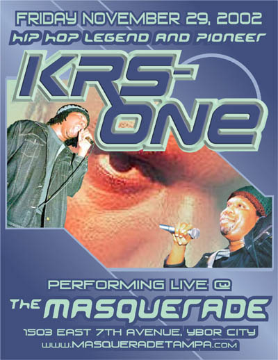 oldschool flyer -Krs One 2