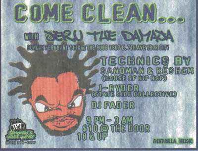 oldschool flyers -Jeru 2