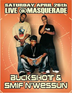 oldschool flyers -Buckshot & Smif-N-Wessun