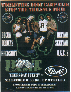 oldschool flyers -Boot Camp Clik