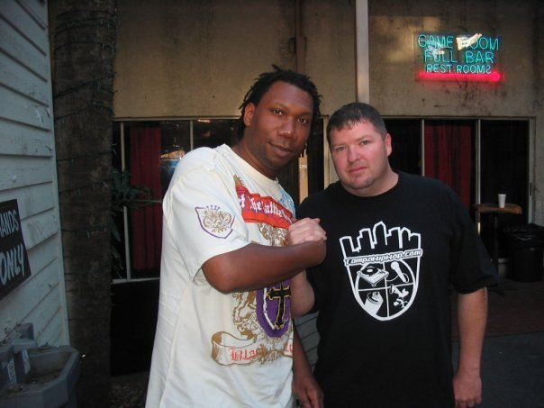 Chillin with Krs One befor we hit the stage
